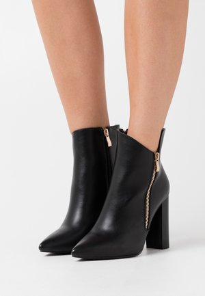 TOP UP KEYLA WIDE FIT  - High heeled ankle boots - black