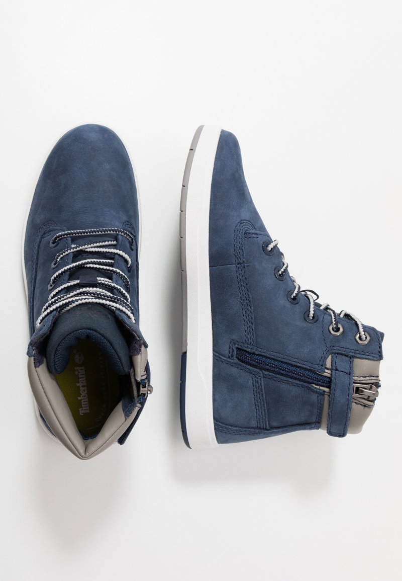 Timberland - DAVIS SQUARE 6 INCH - High-top trainers - navy