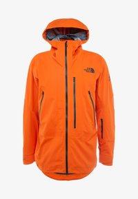 The North Face - M FREETHINKER FutureLight™ JACKET - Kurtka narciarska - papaya orange/black - 7