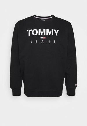 PLUS NOVEL LOGO CREW - Sweatshirt - black