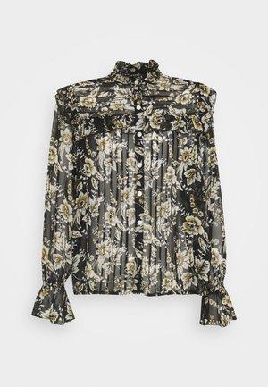 CHOPIN - Button-down blouse - black