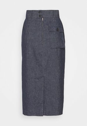 WOMENS SKIRT - Denim skirt - denim