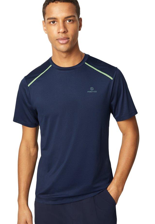 T-shirt de sport - dunkelblau