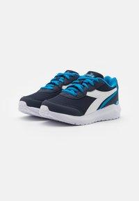 Diadora - JR UNISEX - Scarpe running neutre - estate blue/brilliant blue - 1