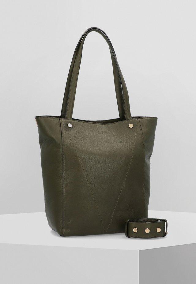 ATELIER FAT CITY  - Tote bag - khaki