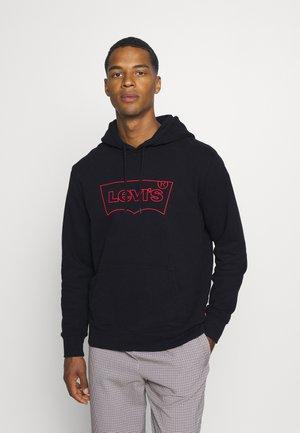GRAPHIC HOODIE STREET  - Sweatshirt - red/black