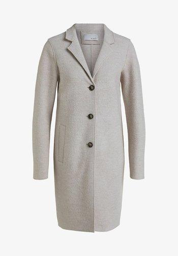 Classic coat - stone melange
