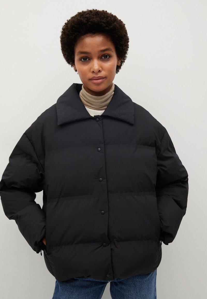 Mango - SAKURA - Winter jacket - schwarz