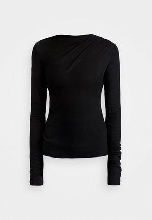 ISA - Top sdlouhým rukávem - black