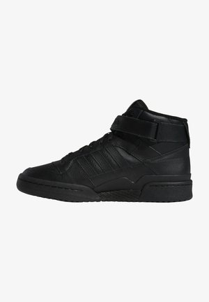 FORUM MID UNISEX - High-top trainers - core black/core black/core black