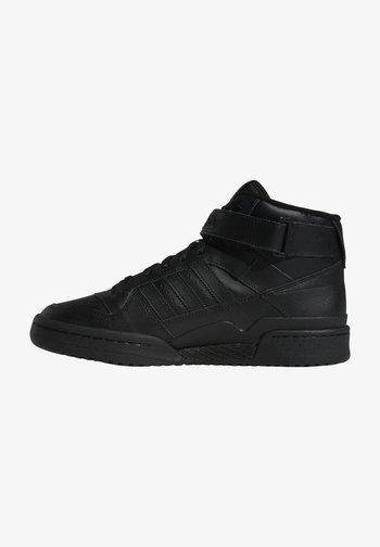 FORUM MID UNISEX - Sneakers alte - core black/core black/core black