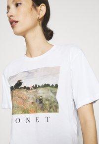 Even&Odd - Print T-shirt - white - 4