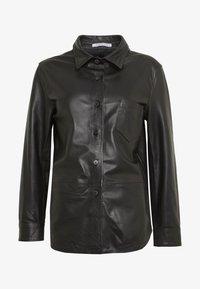 STUDIO ID - RIKE - Button-down blouse - black - 3