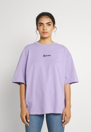 KARMA PRINTED  - Print T-shirt - purple
