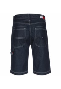 Tommy Jeans - SHORTS REY WORKWEAR - Shorts vaqueros - work dk - 1