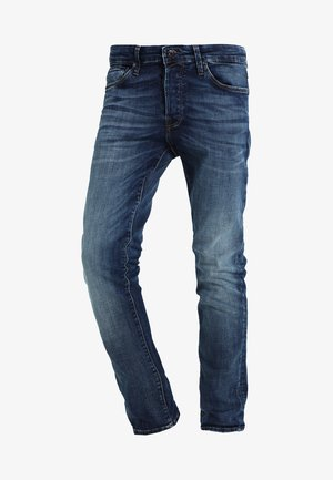 JJIGLENN JJICON - Vaqueros slim fit - blue denim