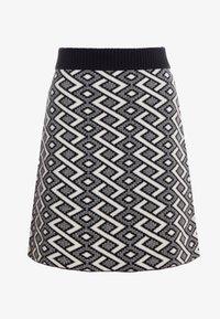 See by Chloé - A-line skirt - white/black - 3