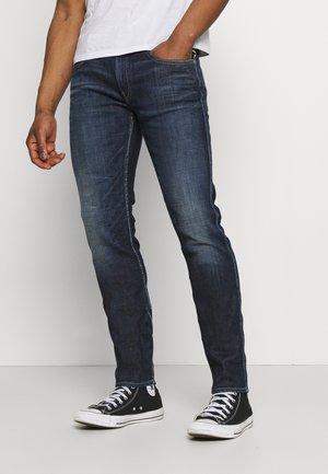 ANBASS AGED - Slim fit jeans - dark blue