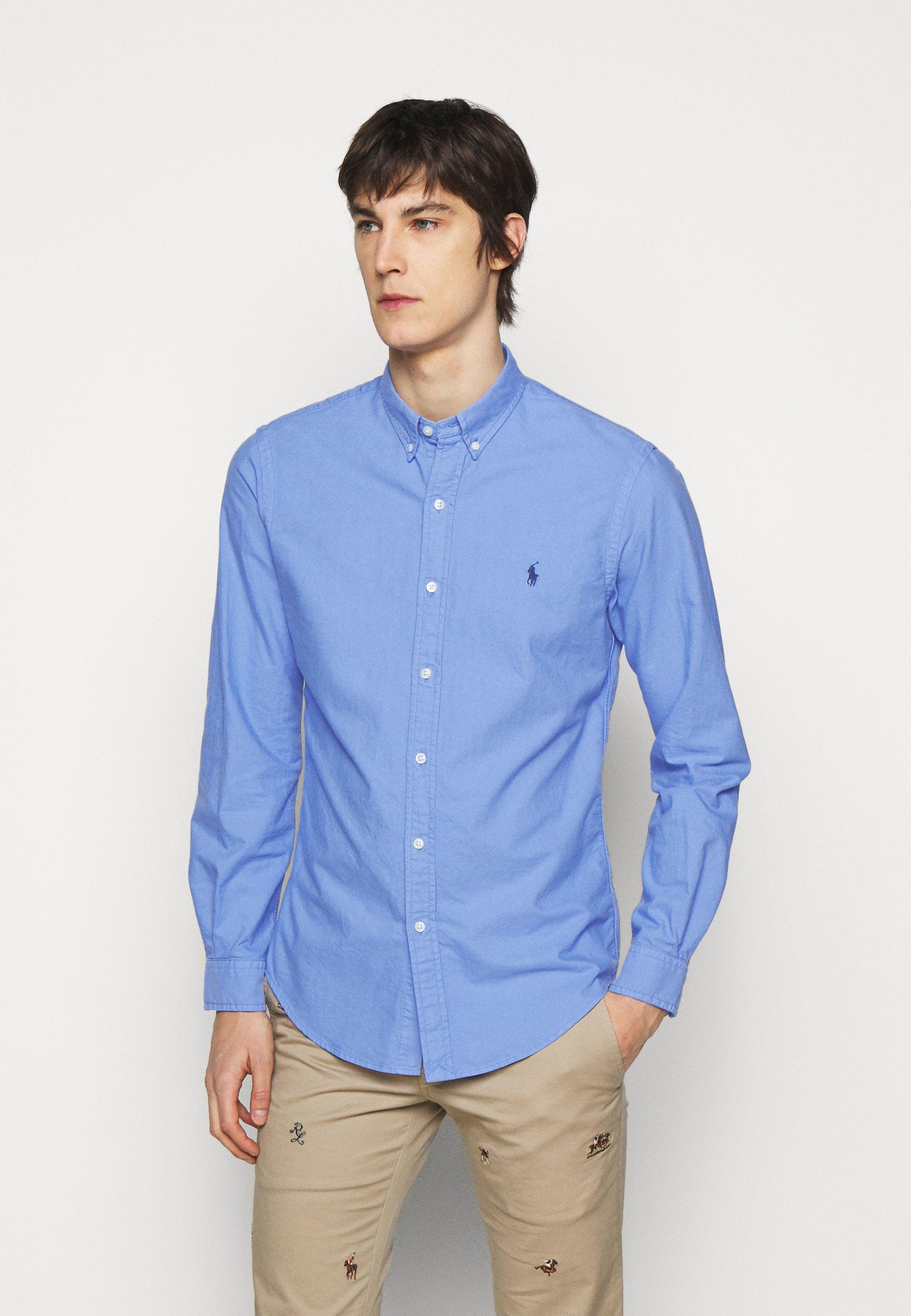 Men SLIM FIT OXFORD SHIRT - Shirt