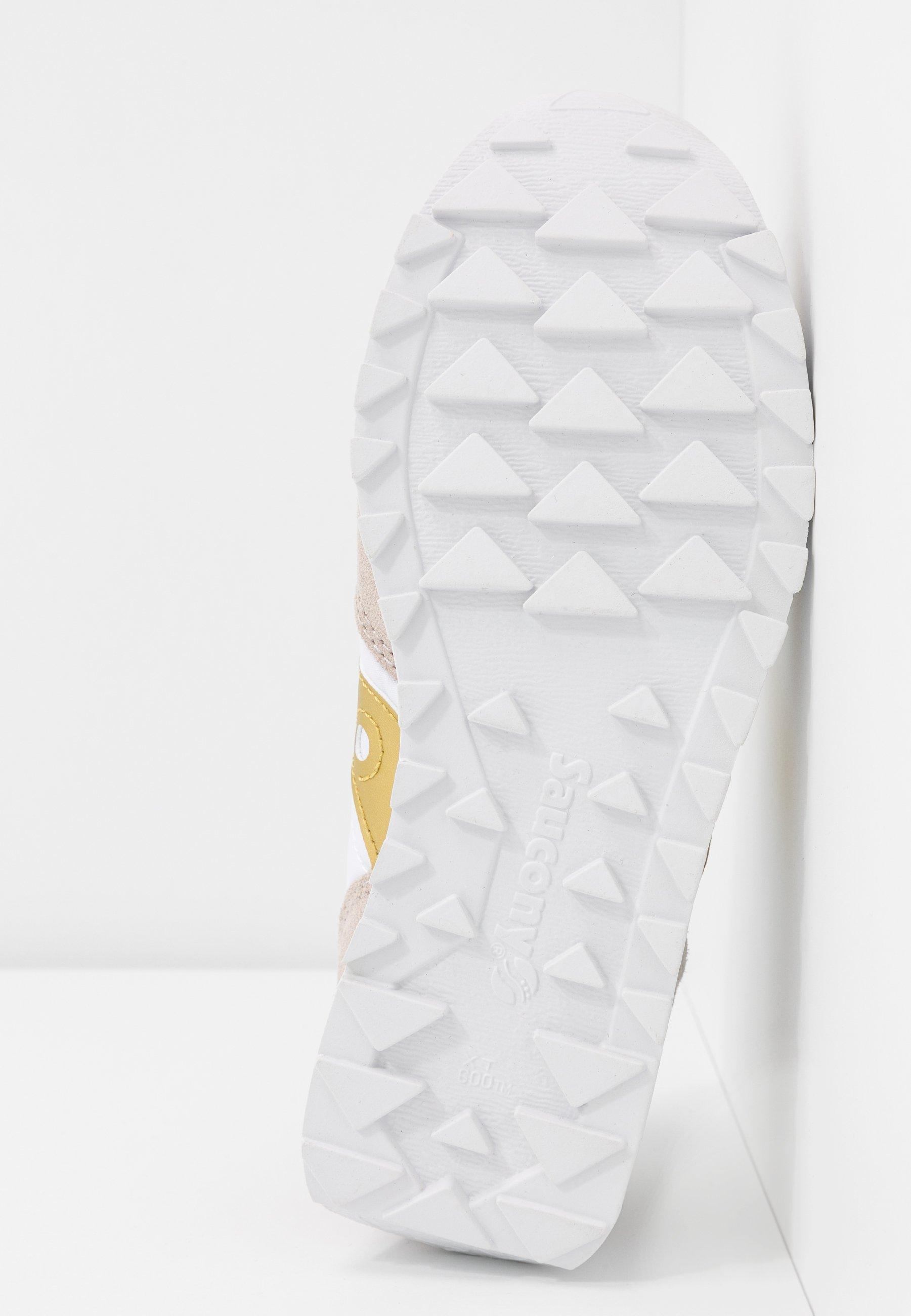 Najlepiej sprzedający się Zniżka Saucony JAZZ VINTAGE - Sneakersy niskie - white/gold   Obuwie damskie 2020 4xv0I