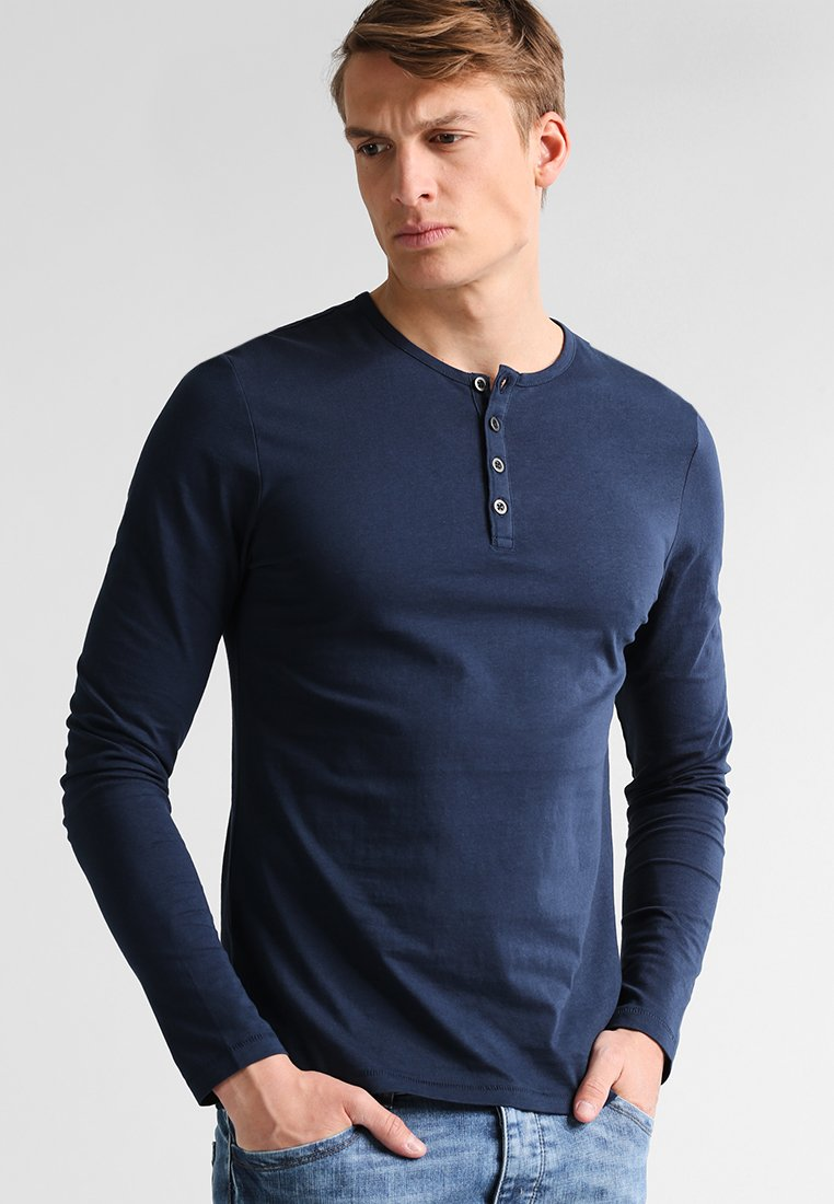 Pier One - Camiseta de manga larga - navy