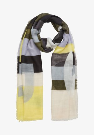 MIT WEBMUSTER - Scarf - khaki placed print