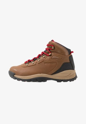 NEWTON RIDGELUXE - Hiking shoes - elk/mountain red
