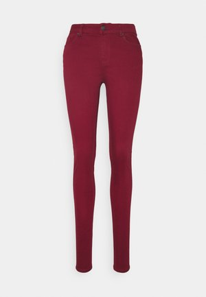 VMHOT SEVEN MR SLIM PUSH UP PANT - Trousers - cabernet