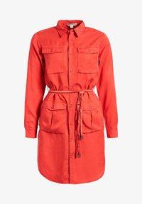 khujo - LEANNA - Shirt dress - red - 8