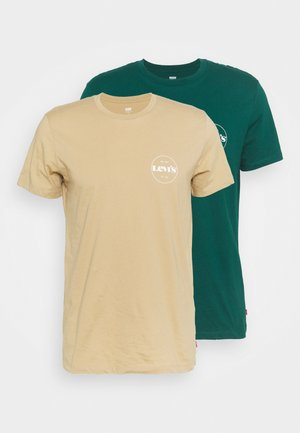 CREWNECK GRAPHIC 2 PACK - T-shirt imprimé - forest biome/curds and whey