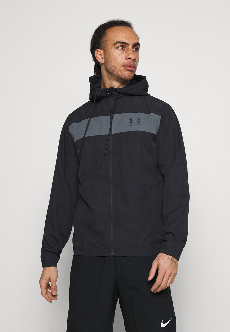 Under Armour - Windbreaker - black
