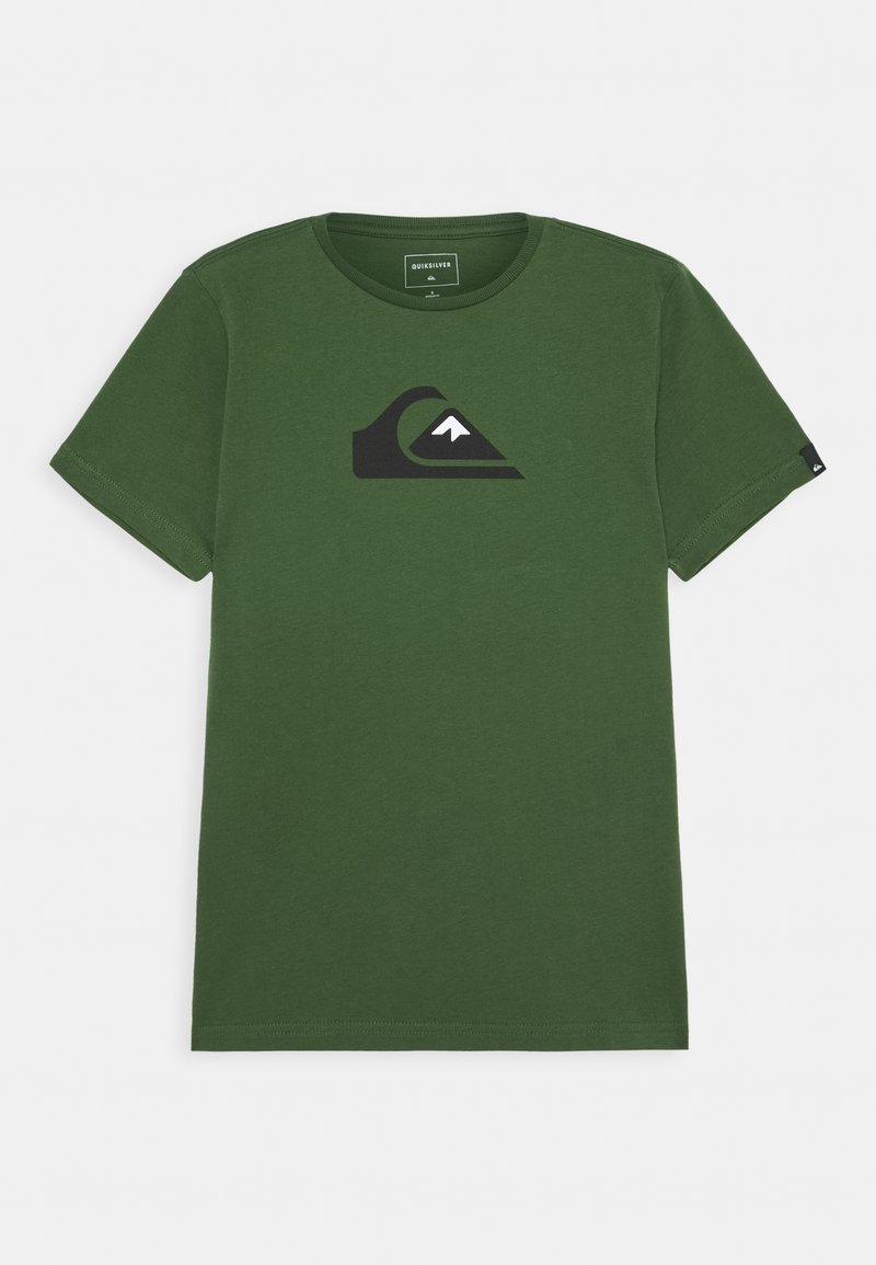 Quiksilver - SCREEN TEE - Camiseta estampada - greener pastures