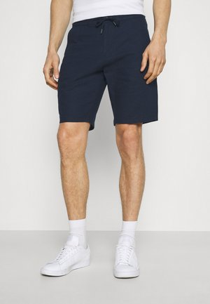 ELASTIC WAIST - Shorts - navy