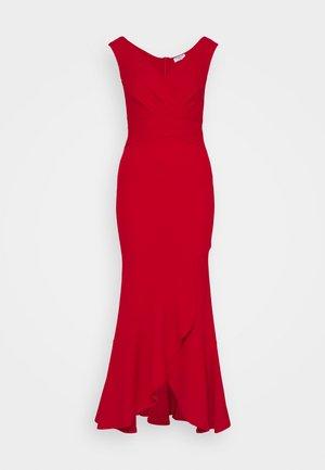 TOPAZ - Společenské šaty - red
