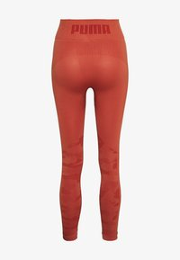 Puma - EVOKNIT SEAMLESS LEGGINGS - Legging - autumn glaze - 1