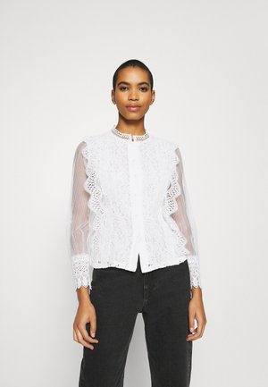 APPEL BLOUSE - Button-down blouse - ecru