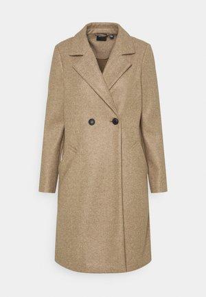 VMFORTUNEADDIE JACKET - Klasický kabát - sepia tint melange
