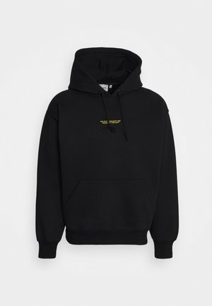 HOODED - Sweat à capuche - black