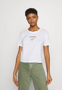 Hollister Co. - Print T-shirt - white - 0