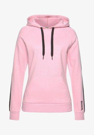 Hoodie - rosa-schwarz