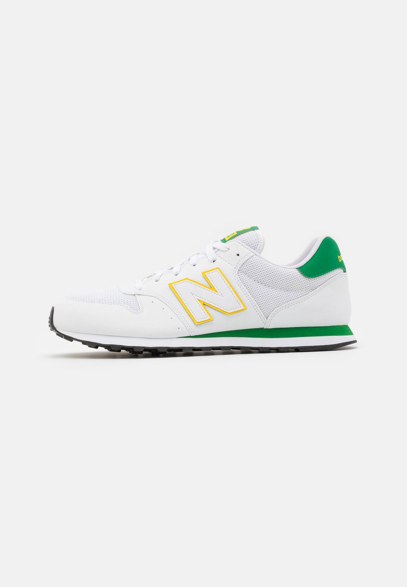 New Balance - GM500 - Matalavartiset tennarit - white/green