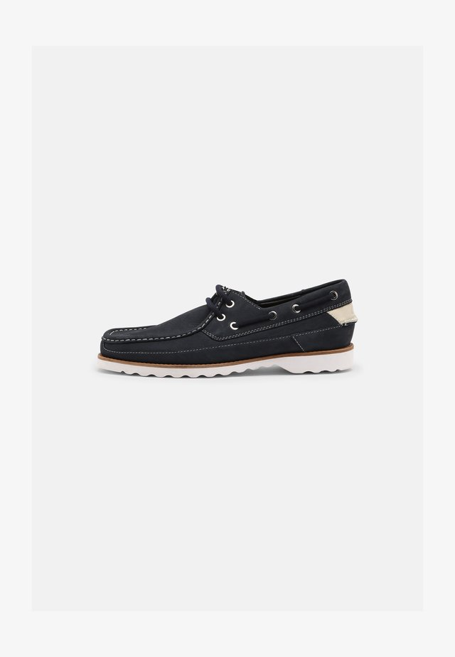 DURLEIGH SAIL - Boat shoes - navy
