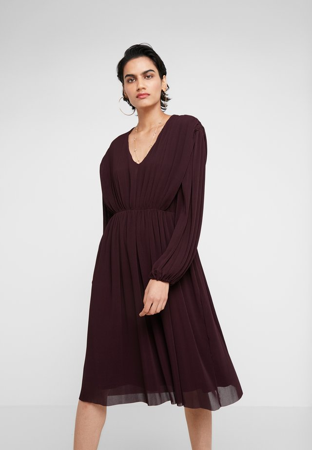 KENNEDY - Vestito estivo - rouge noir