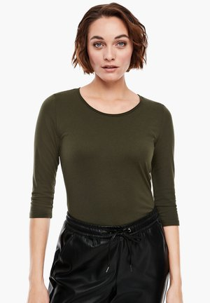 Long sleeved top - khaki
