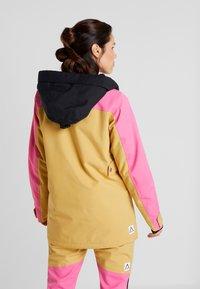 Wearcolour - BLAZE JACKET - Snowboardjakke - sand - 2
