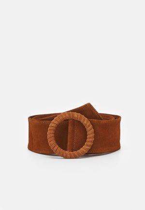 LEATHER - Belte - cognac