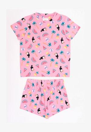 NYC TROPICAL TOUCAN - Pyjama set - pink
