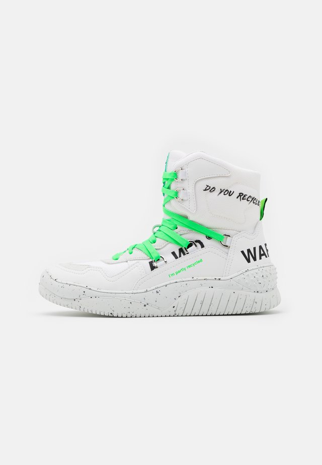 High-top trainers - pro white/ice/white