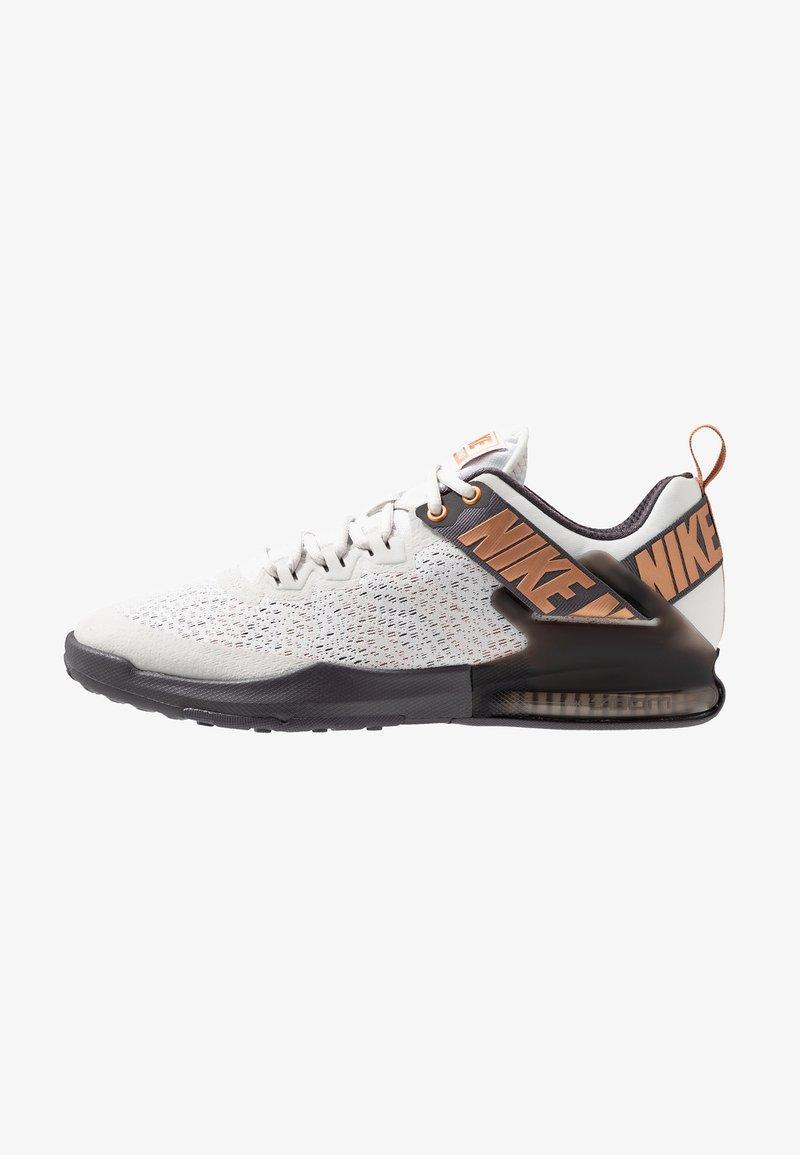 Nike Performance - ZOOM DOMINATION TR 2 - Sports shoes - platinum tint/metallic copper/thunder grey/off noir