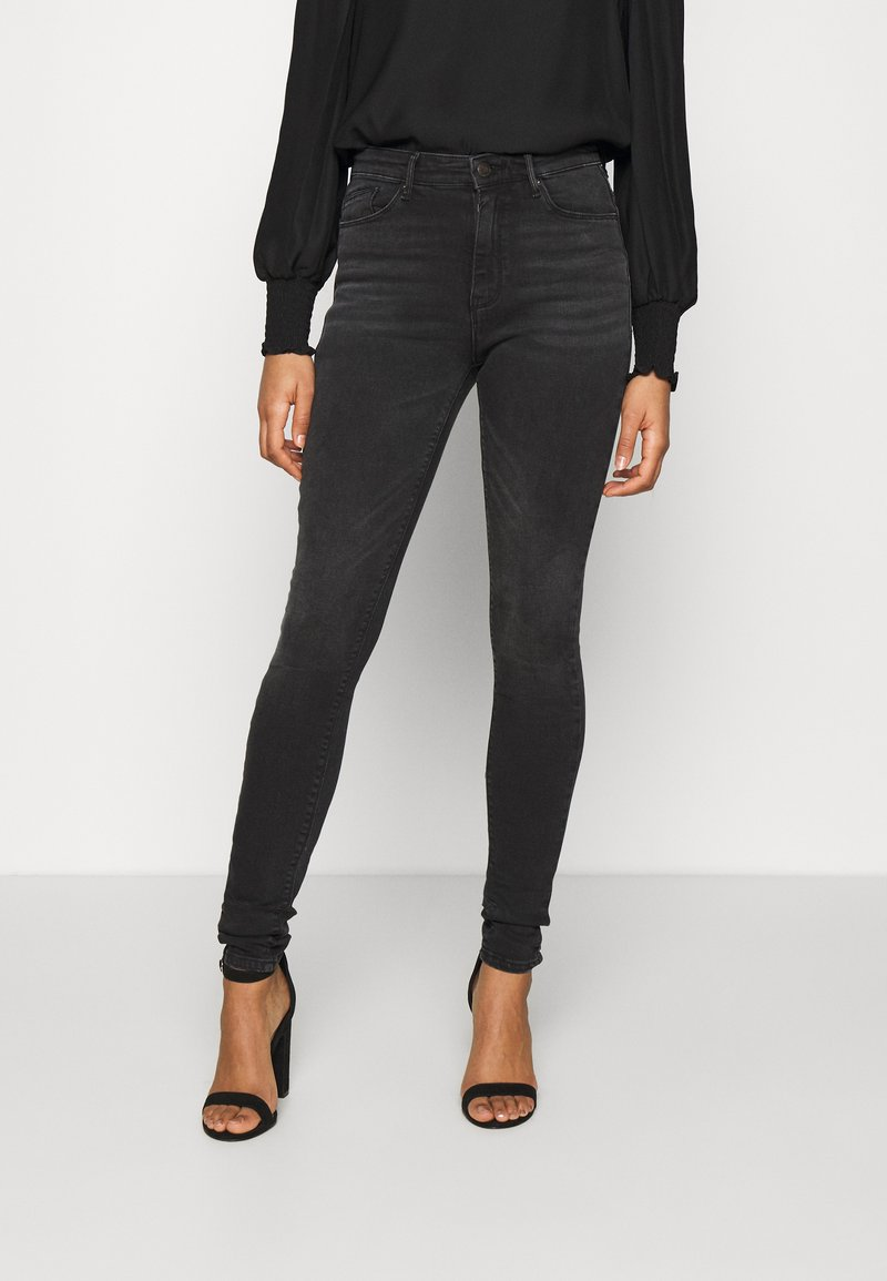 ONLY - ONLPAOLA LIFE  - Jeans Skinny Fit - dark grey denim